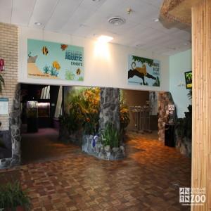 Primates, Cats & Aquatics Building, Atrium