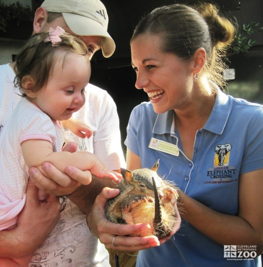 Get Close with Angie and the Armadillo