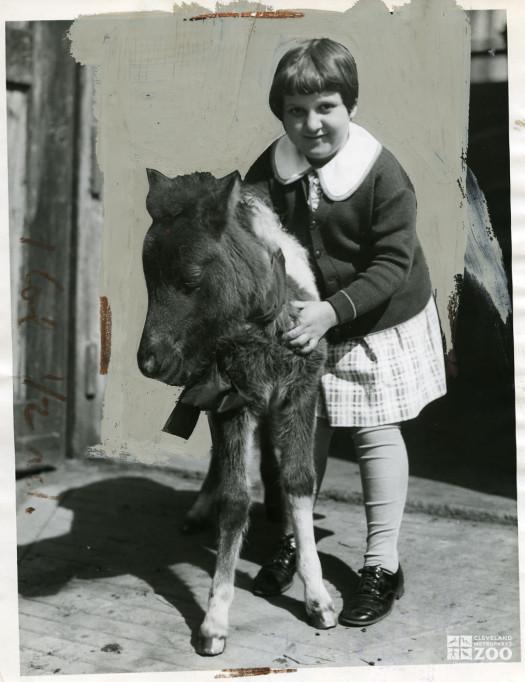 1935 - Pony and Child