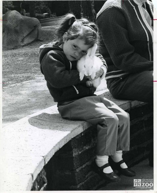 1950's - Child and Rabbit