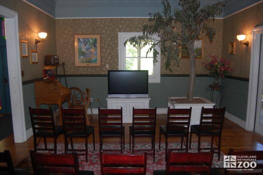 Inside the Reinberger Homestead