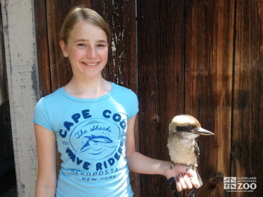 Keeper for a Day Participant with Kookaburra