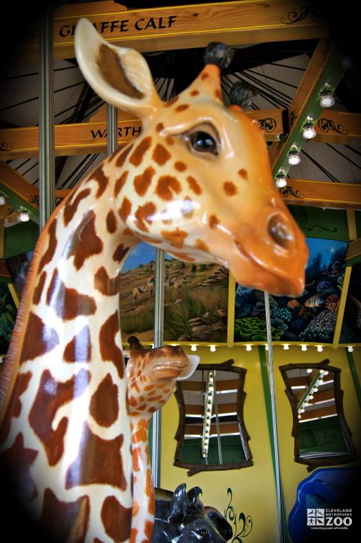 Masai Giraffe - Carousel
