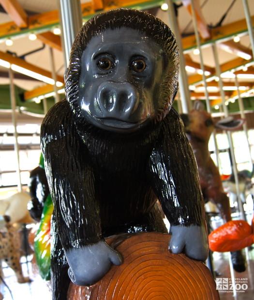 Western Gorilla Baby - Carousel