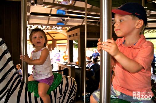 Kids on Carousel 1