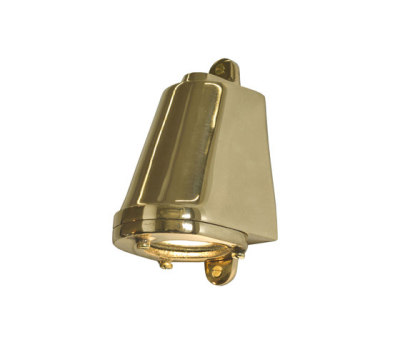 0749 Mast Light, Mains Voltage + LED lamp, Polished Bronze by Davey Lighting Limited
