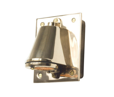 0750 Mast Light with Cast Transformer Box, Polished Bronze by Davey Lighting Limited