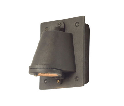 0750 Mast Light with Cast Transformer Box, Sandblasted Weathered Bronze by Davey Lighting Limited