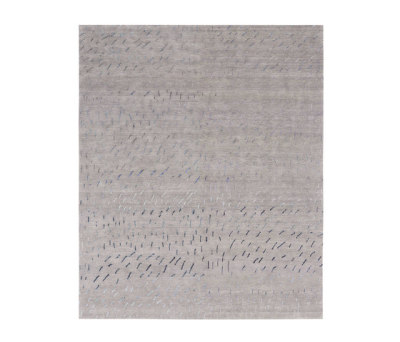 4-Minute Rug - Twister grey by REUBER HENNING