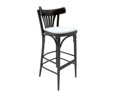 56 Barstool upholstered by TON