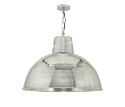 7163 Spun Reflector Large, Polished Aluminium by Davey Lighting Limited