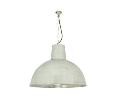 7164 Spun Reflector, Medium, Polished Aluminium by Davey Lighting Limited