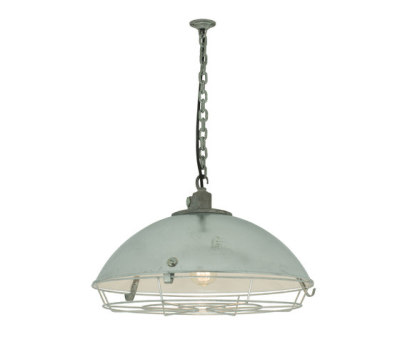 7242 Cargo Cluster Light With Protective Guard, 1xE27, Galvanised by Davey Lighting Limited