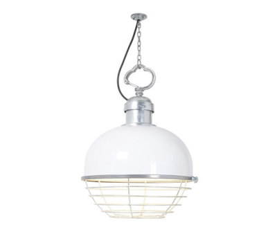 7243 Large Oceanic Pendant, White by Davey Lighting Limited