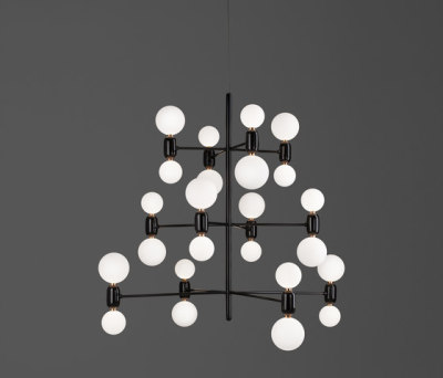Aballs chandelier 12 by PARACHILNA