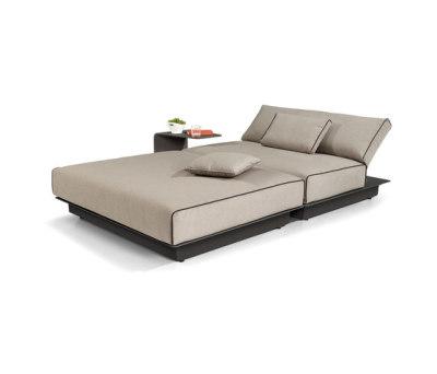 Air concept 5 lounger aluminium by Manutti