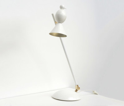 Alouette Slanted desk lamp by Atelier Areti