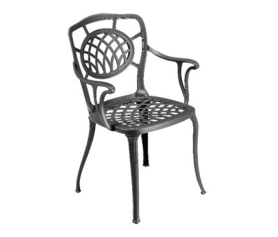 Althea armchair by Fast