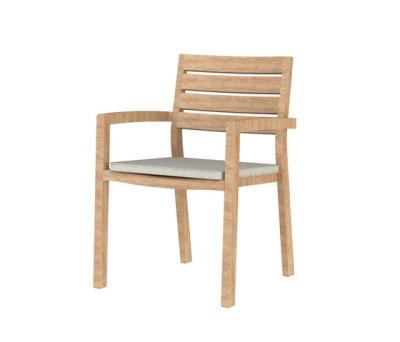 Ambra armchair - teak by Ethimo