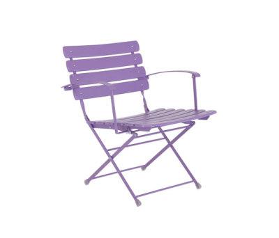 Arc en Ciel folding armchair - set of 2 Lilac
