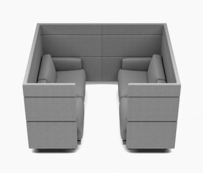 Arnhem Sofa Goes Room by De Vorm