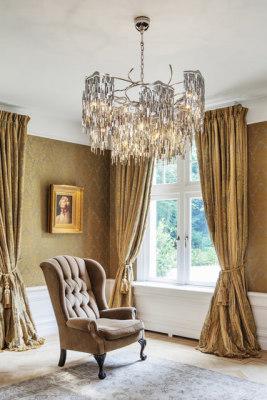 Arthur chandelier round by Brand van Egmond