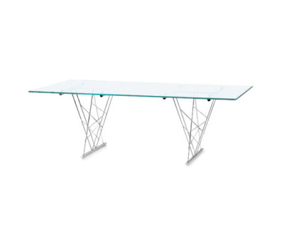 Avalon TR 220 glass table by Frag