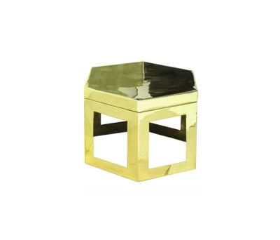 Basalt Table Medium by Martin Huxford Studio