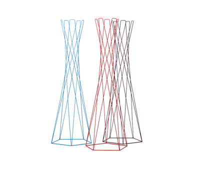 Basket coat stand by Cascando