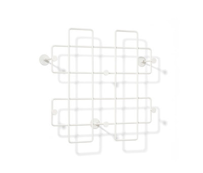 Bazar Wall-mounted rack, large by Lampert