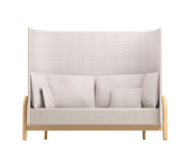 Beech Private Bench high by DUM