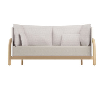 Beech Private Bench low by DUM