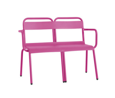 Biarritz bench by iSi mar