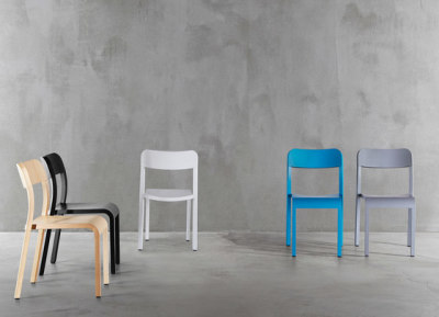 Blocco Chair 1475-20 by Plank