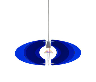 Blossom Pendant 65 Royal blue by Bsweden