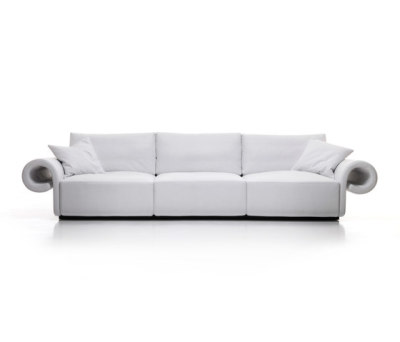 B.olide | 3-seater sofa by Mussi Italy