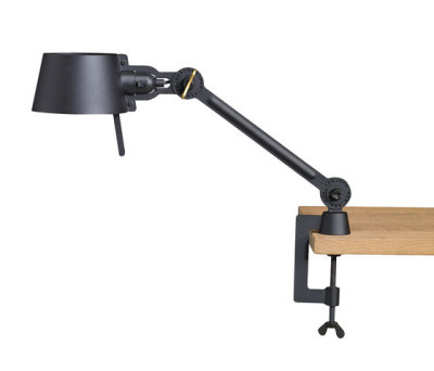 BOLT desk lamp - single arm - small - with clamp by Tonone