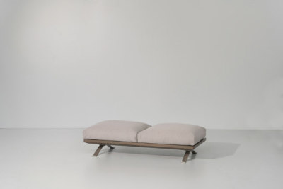 Boma bench 2-seater by KETTAL