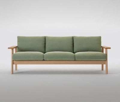 Bruno Three Seater Sofa by MARUNI