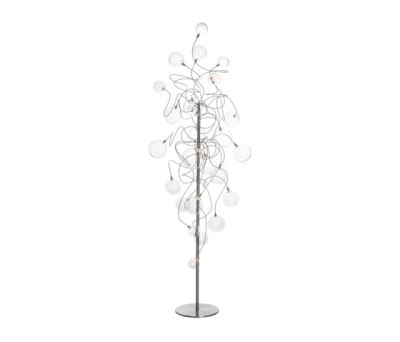Bubbles – Long floor lamp by HARCO LOOR