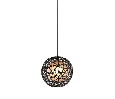 C-U C-Me Hanging Lamp round small by Kenneth Cobonpue
