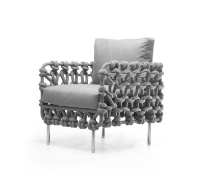 Cabaret Easy Armchair by Kenneth Cobonpue