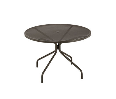 Cambi round table; 120cm top Black