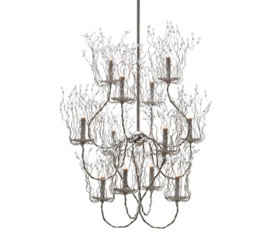 Candles and Spirits chandelier by Brand van Egmond
