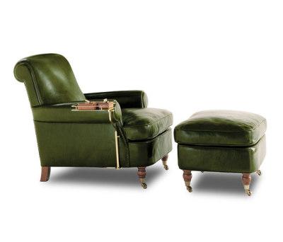 CHARLOTTE Armchair | Pouf by Baxter