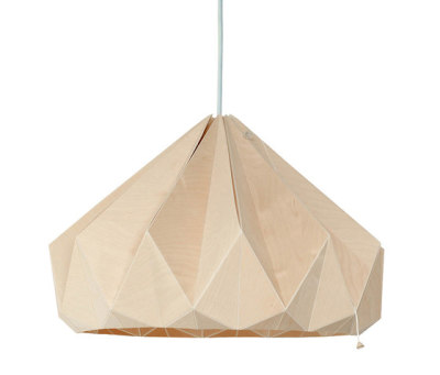 Chestnut – Wooden Origami by Studio Snowpuppe