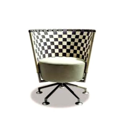 Circo swivel armchair by COR