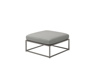 Cloud 75x75 Ottoman by Gloster Furniture