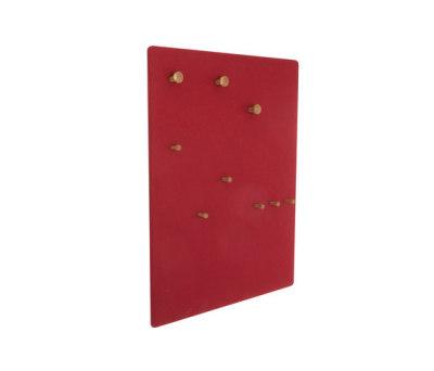 Coat rack panel, wide DBV-292 by De Breuyn