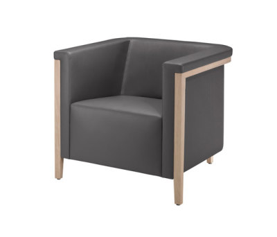 collar Armchair 9041/A by Brunner
